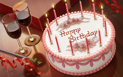 Тортик в день рождения