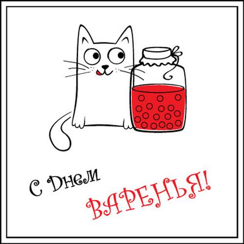 Кот можно, картинки смешные с днем варения