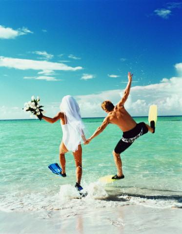 Прикольная свадебная открытка