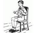 Игра «Попробуй встать со стула»
