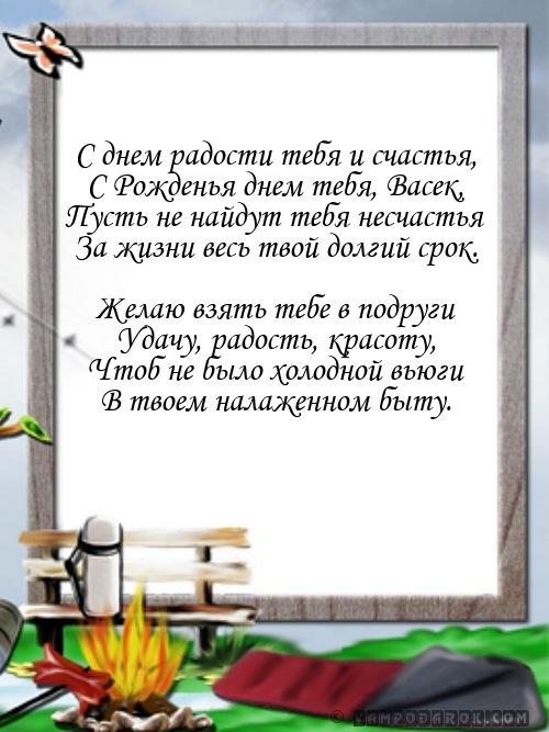 Картинки поздравления с днем рождения вася, россии сколько