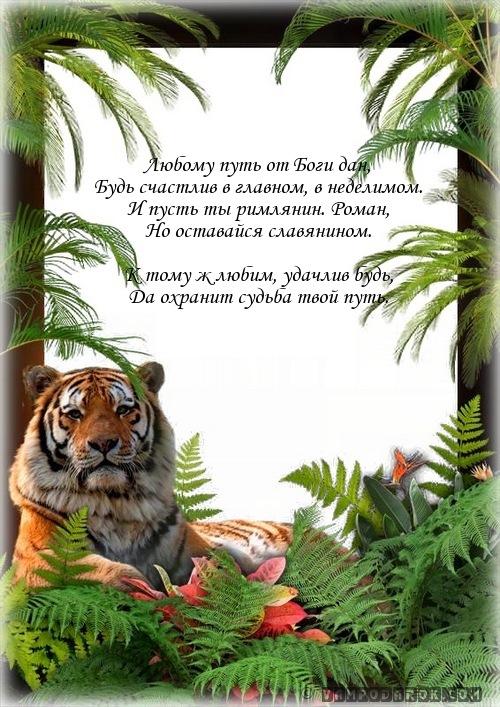 РОМАН (гр.) - римлянин…