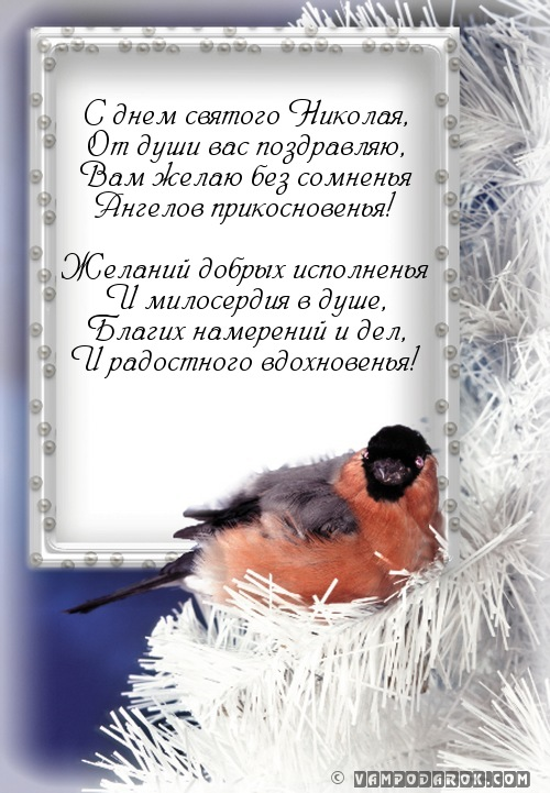 С днем святого Николая,…